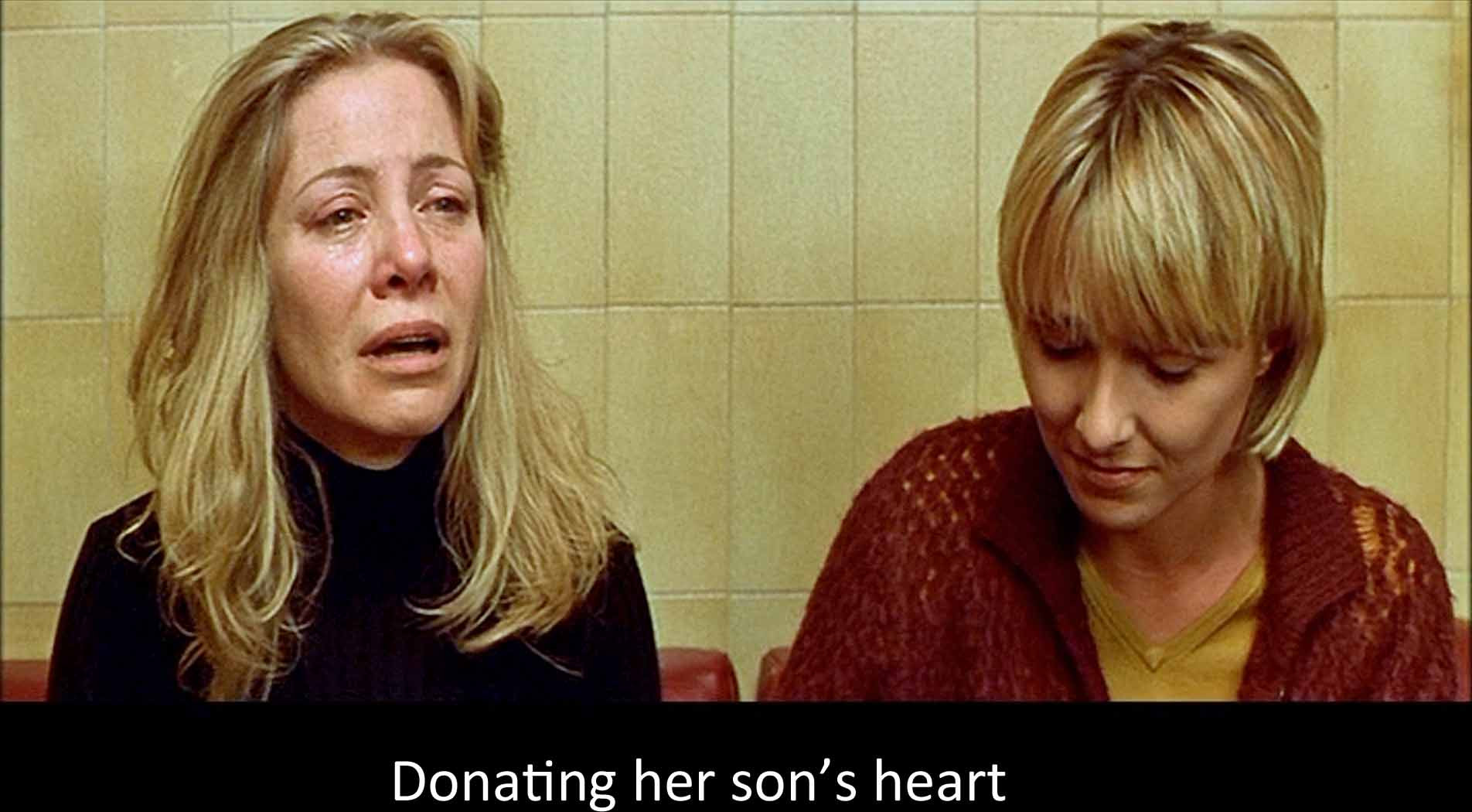 Donating her son's heart