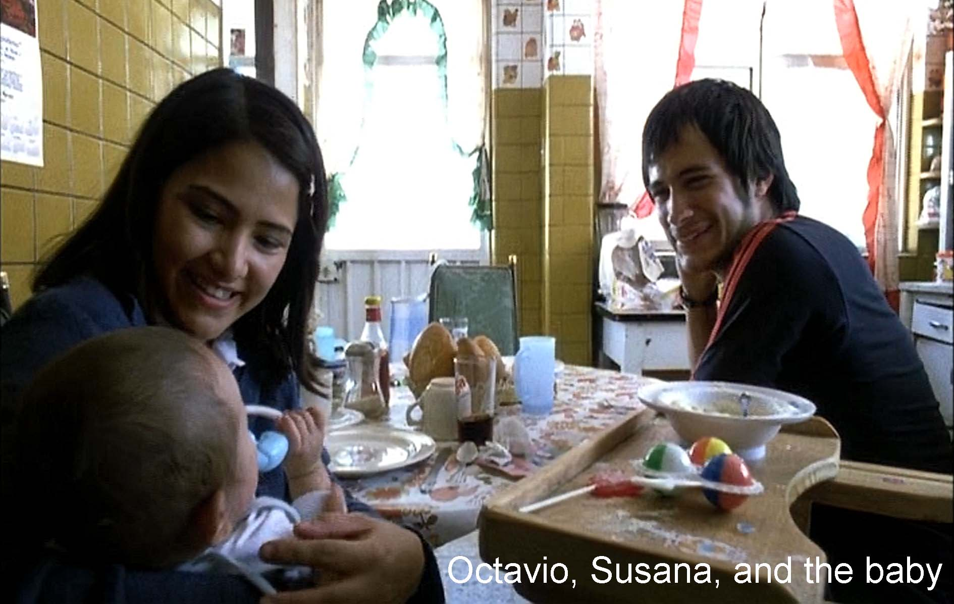 Octavio, Susana, and the baby