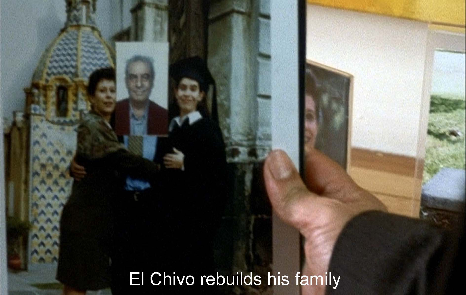 El Chivo rebuilds his family