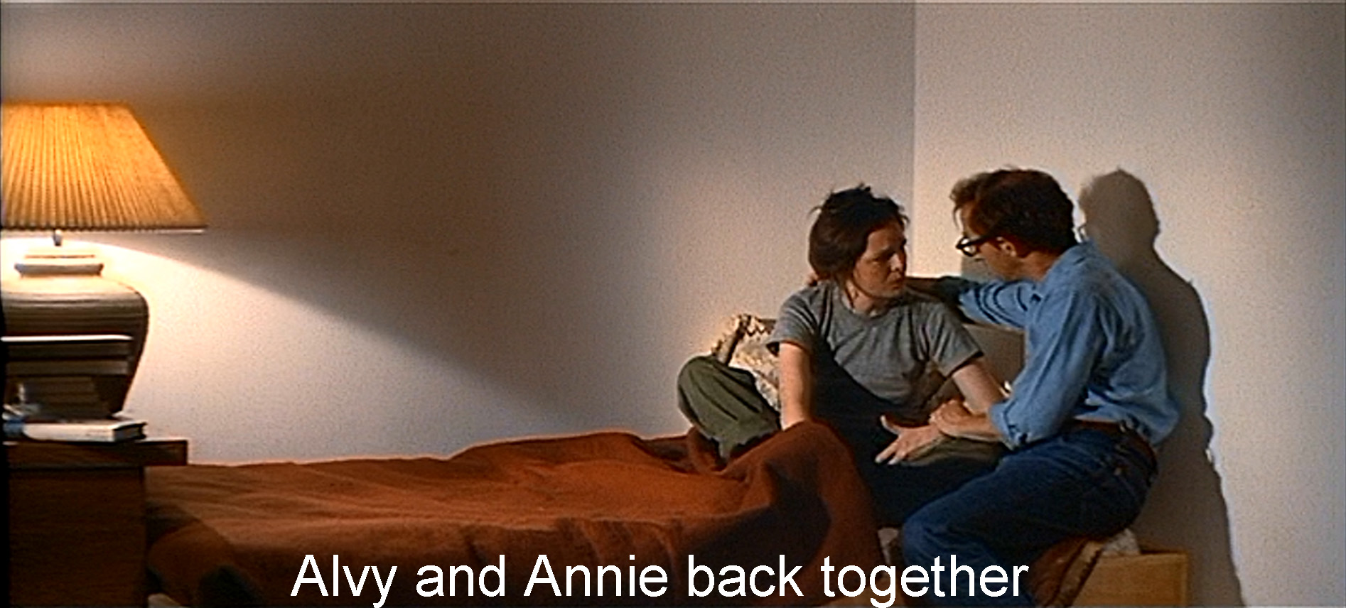 Alvy and Annie back together