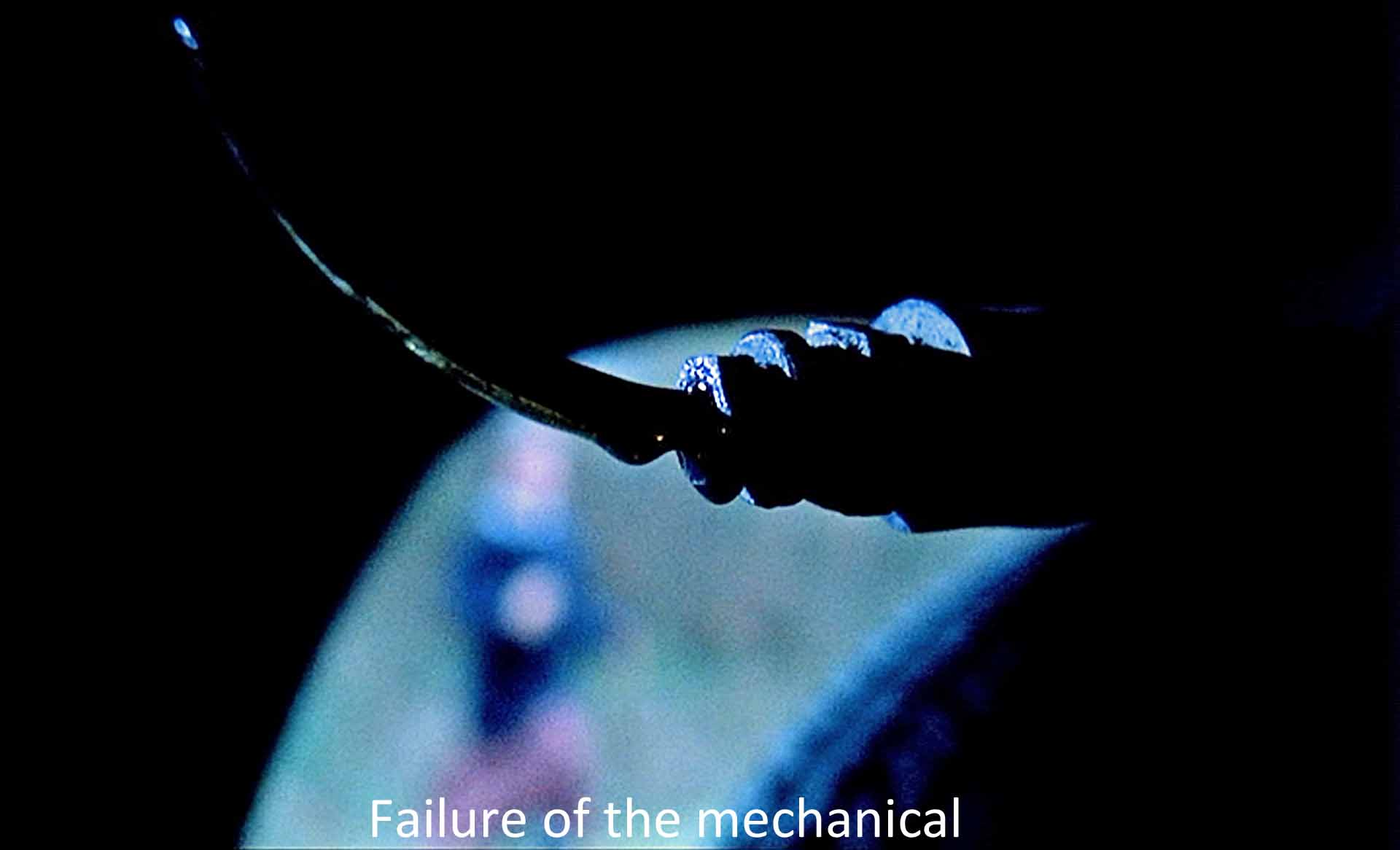 Failure of the mechanical