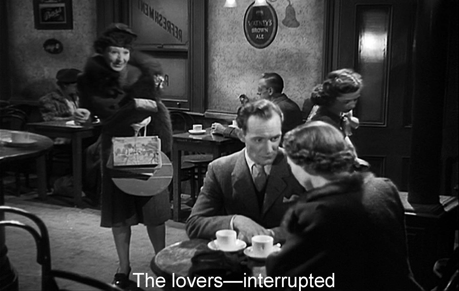 The lovers�interrupted