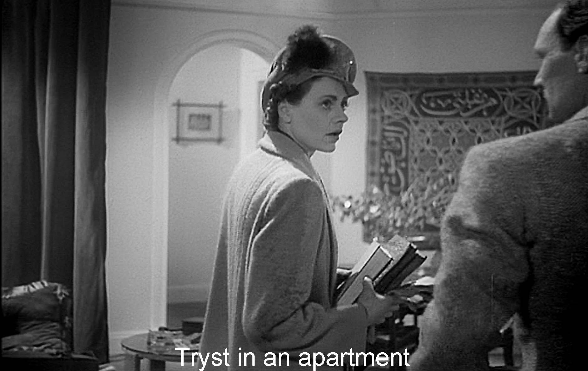 Tryst in an apartment