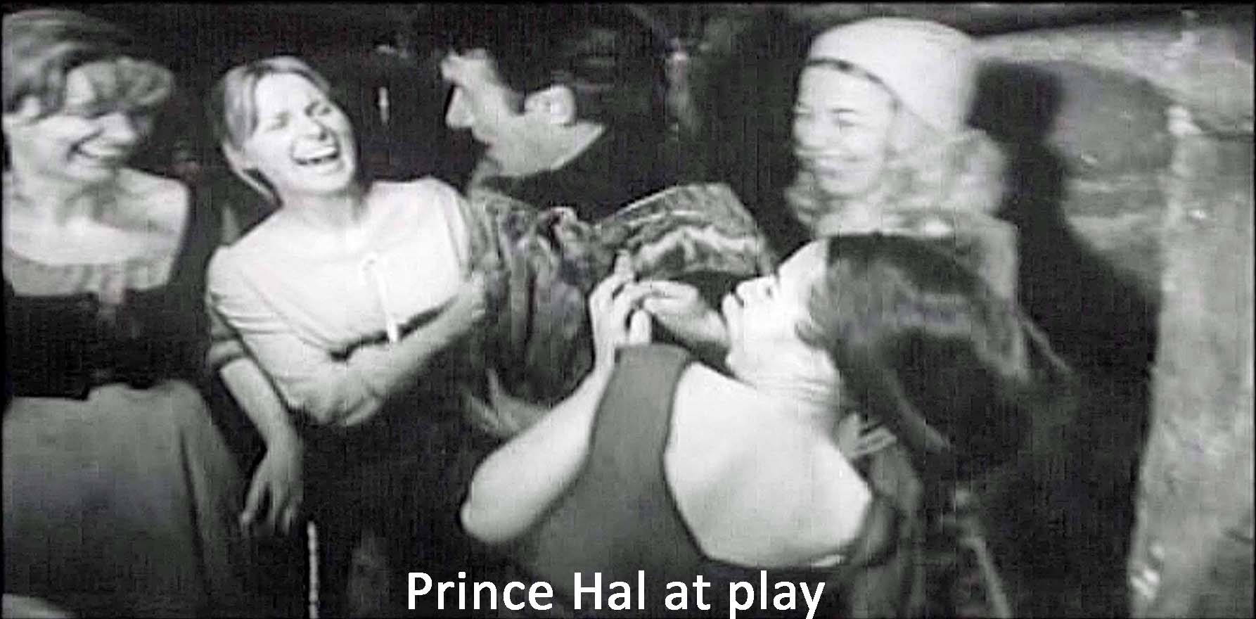 Prince Hal at play