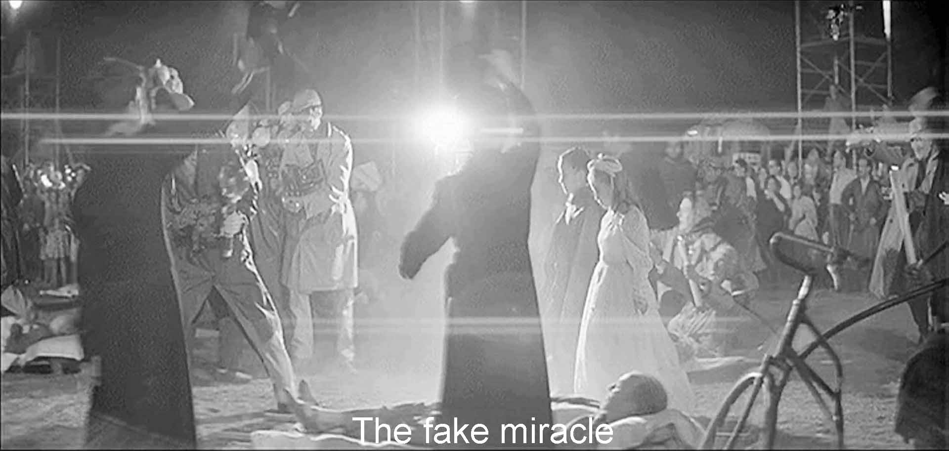 The fake miracle