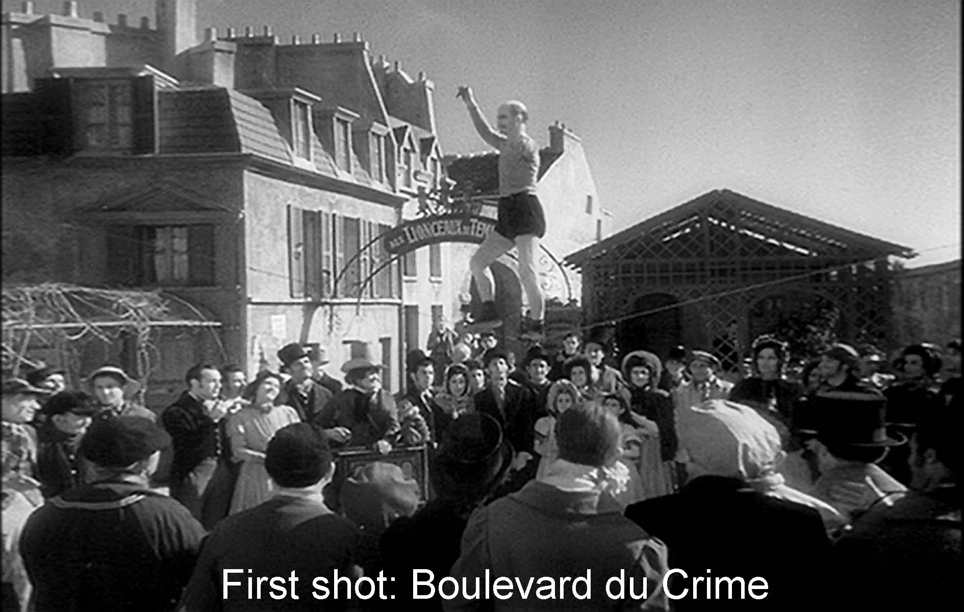 First shot: the Boulevard du Crime