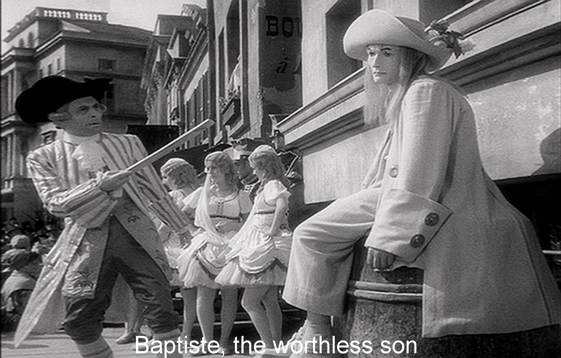 Baptiste: the worthless son