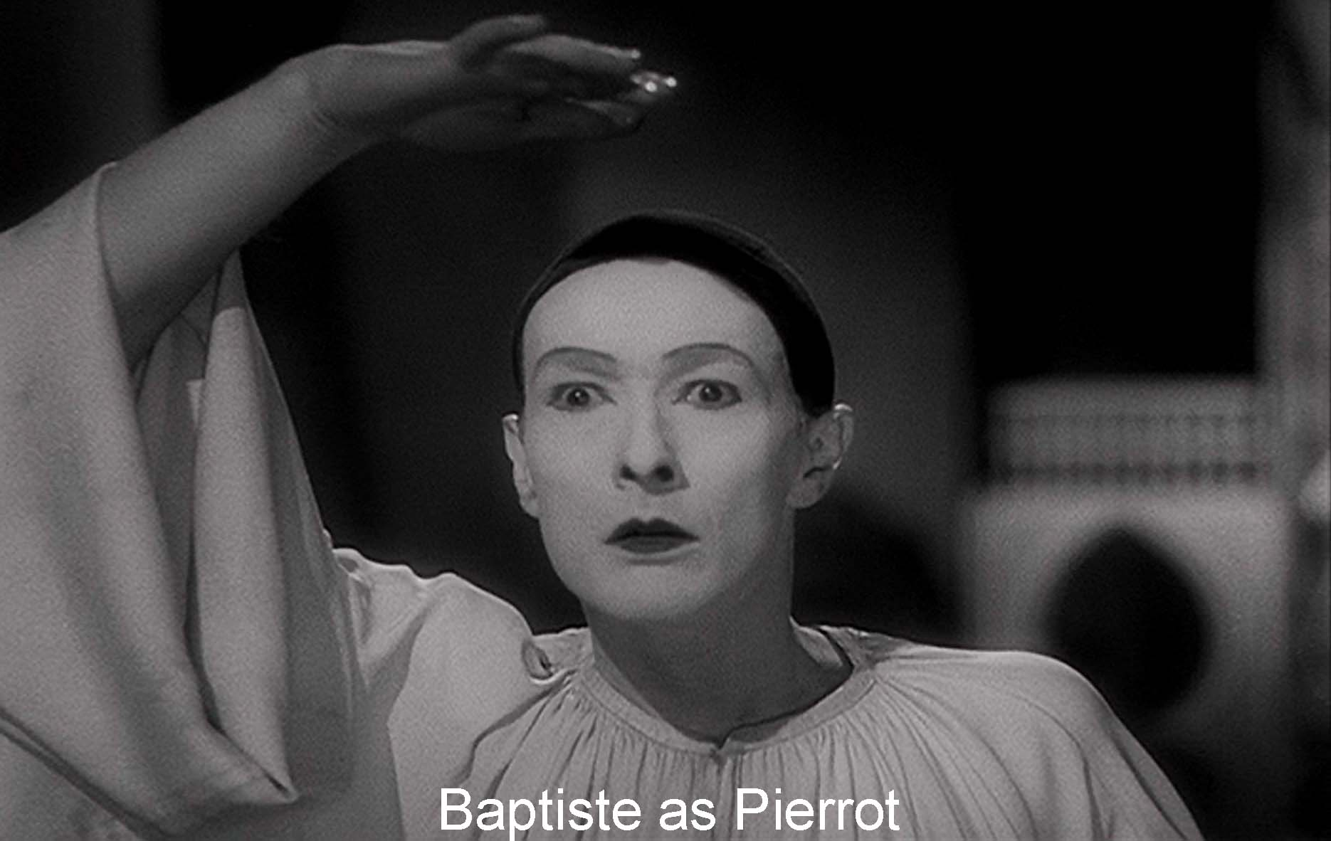 Baptiste as Pierrot