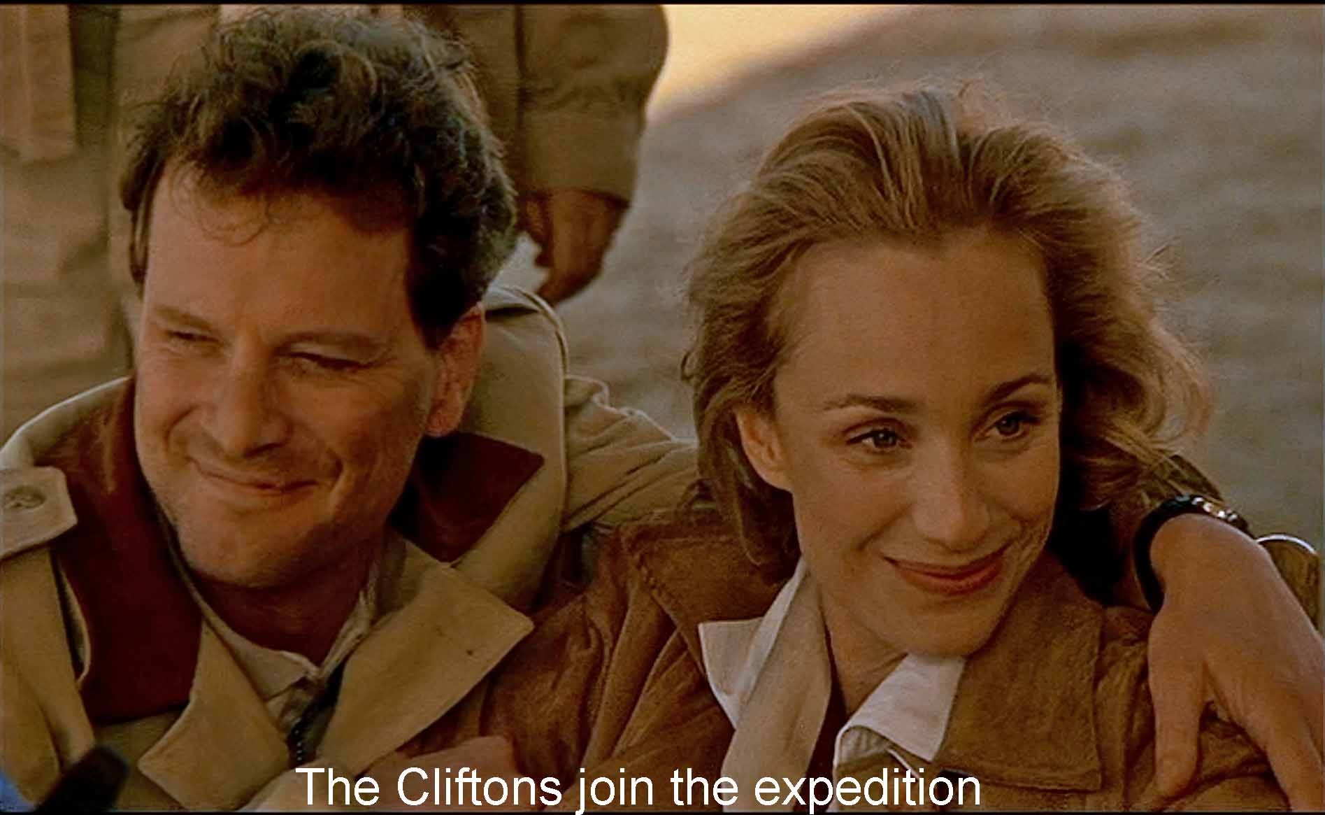 The Cliftons join the expedition