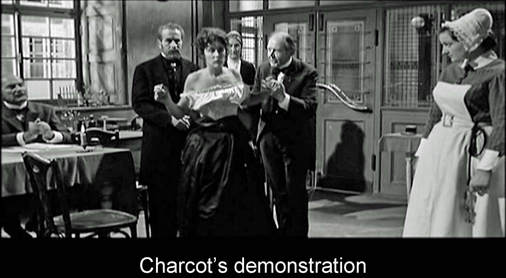 Charcot's demonstration