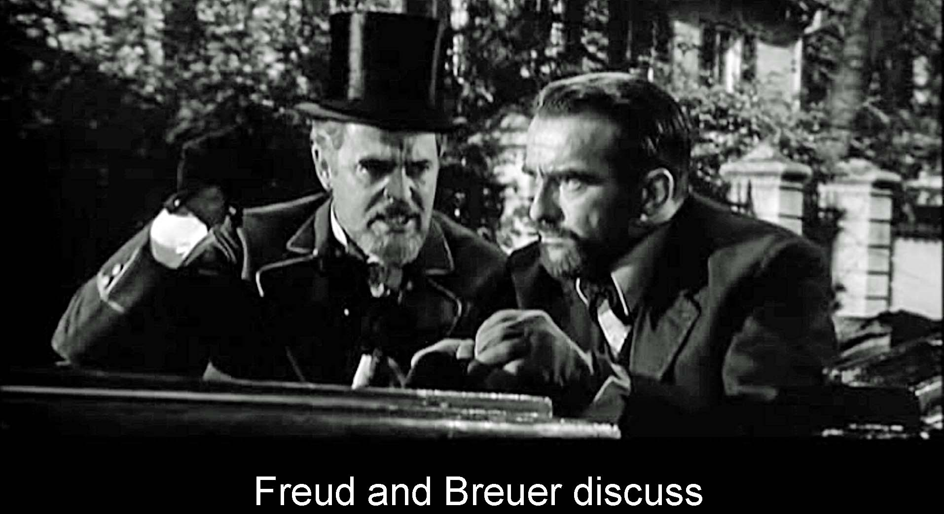 Freud and Breuer discuss
