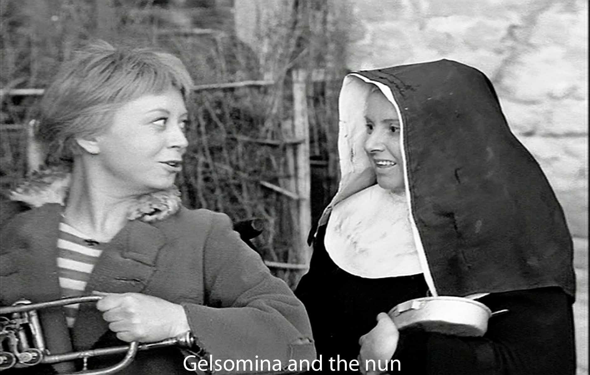 Gelsomina and the nun