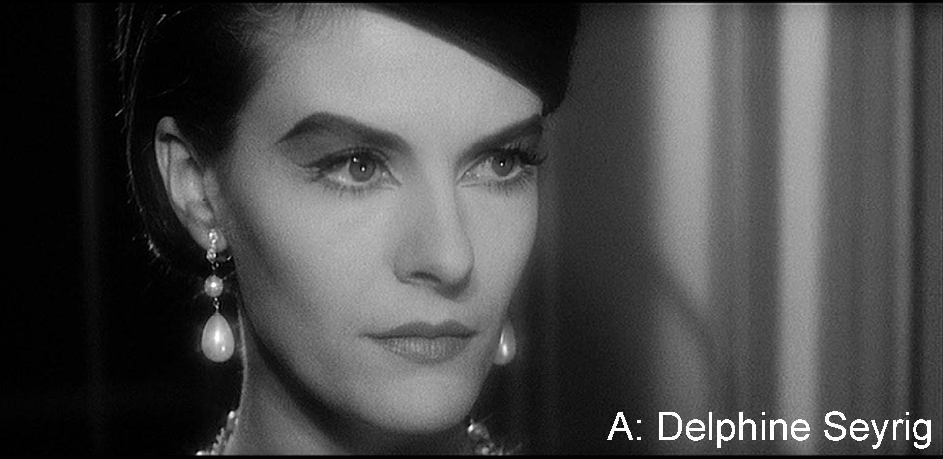 A: Delphine Seyrig