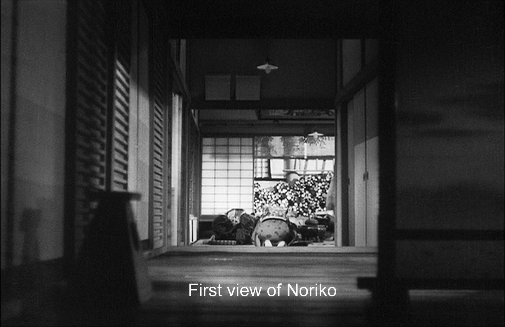 First view of Noriko