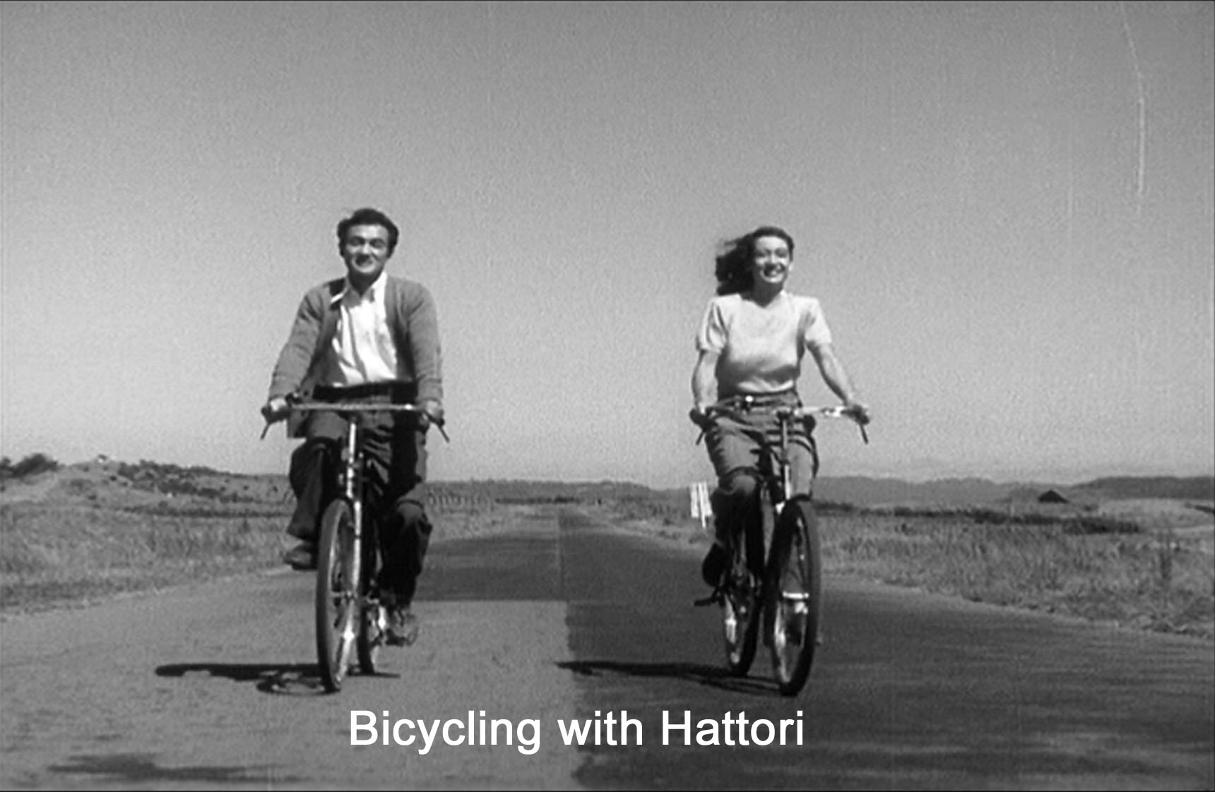 Bicycling with Hattori