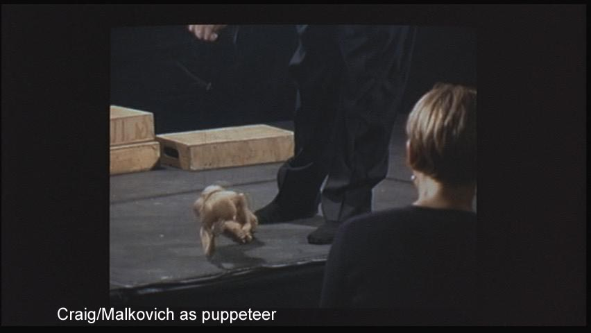 Craig/Malkovich as puppeteer