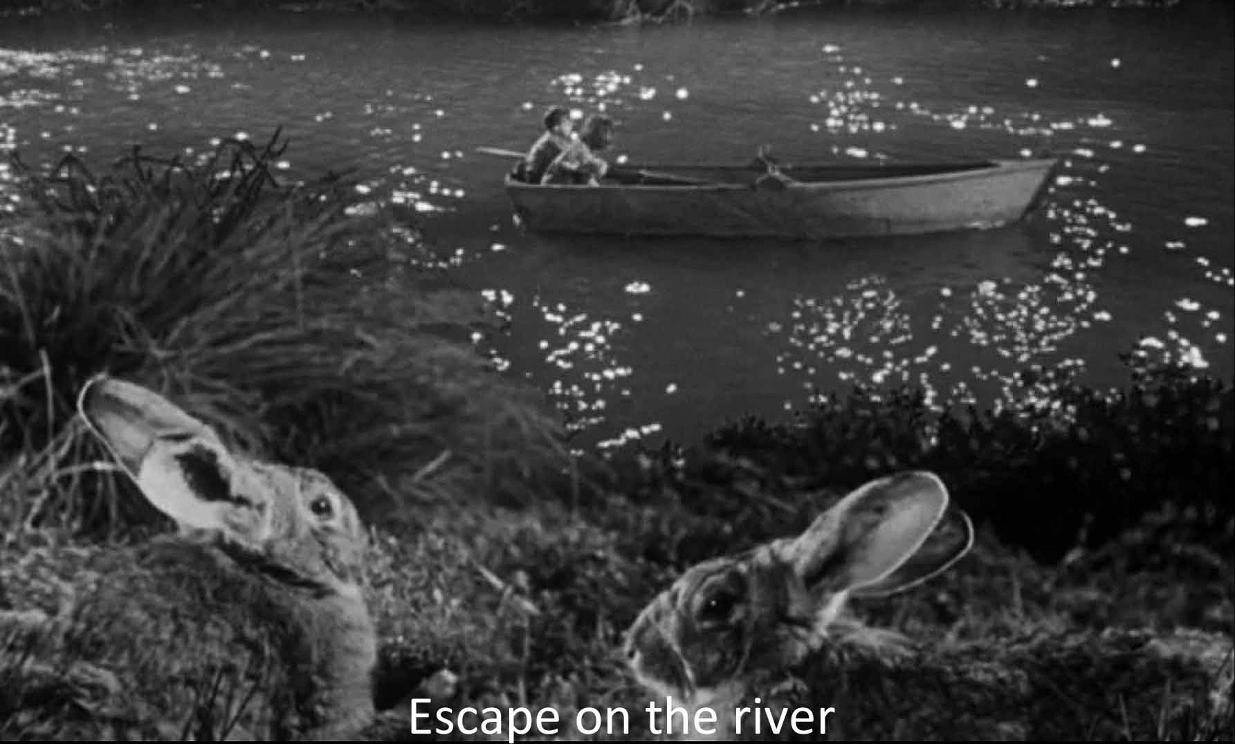 Escape on the river