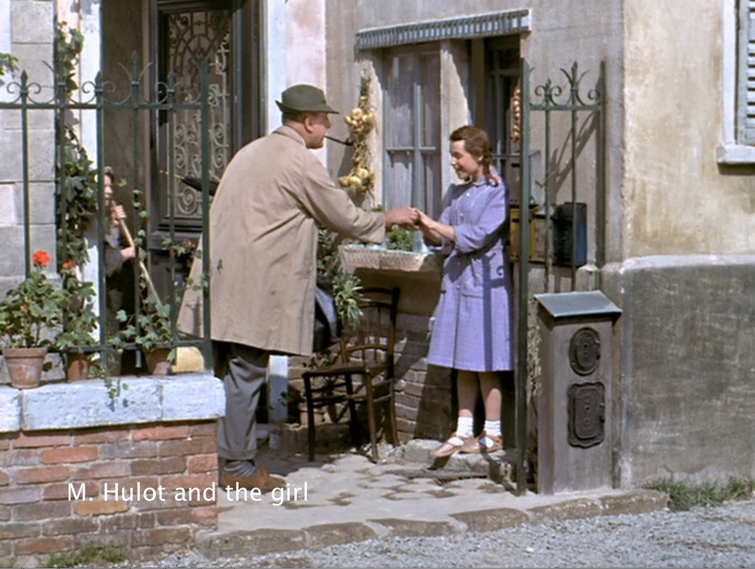 M. Hulot and the girl