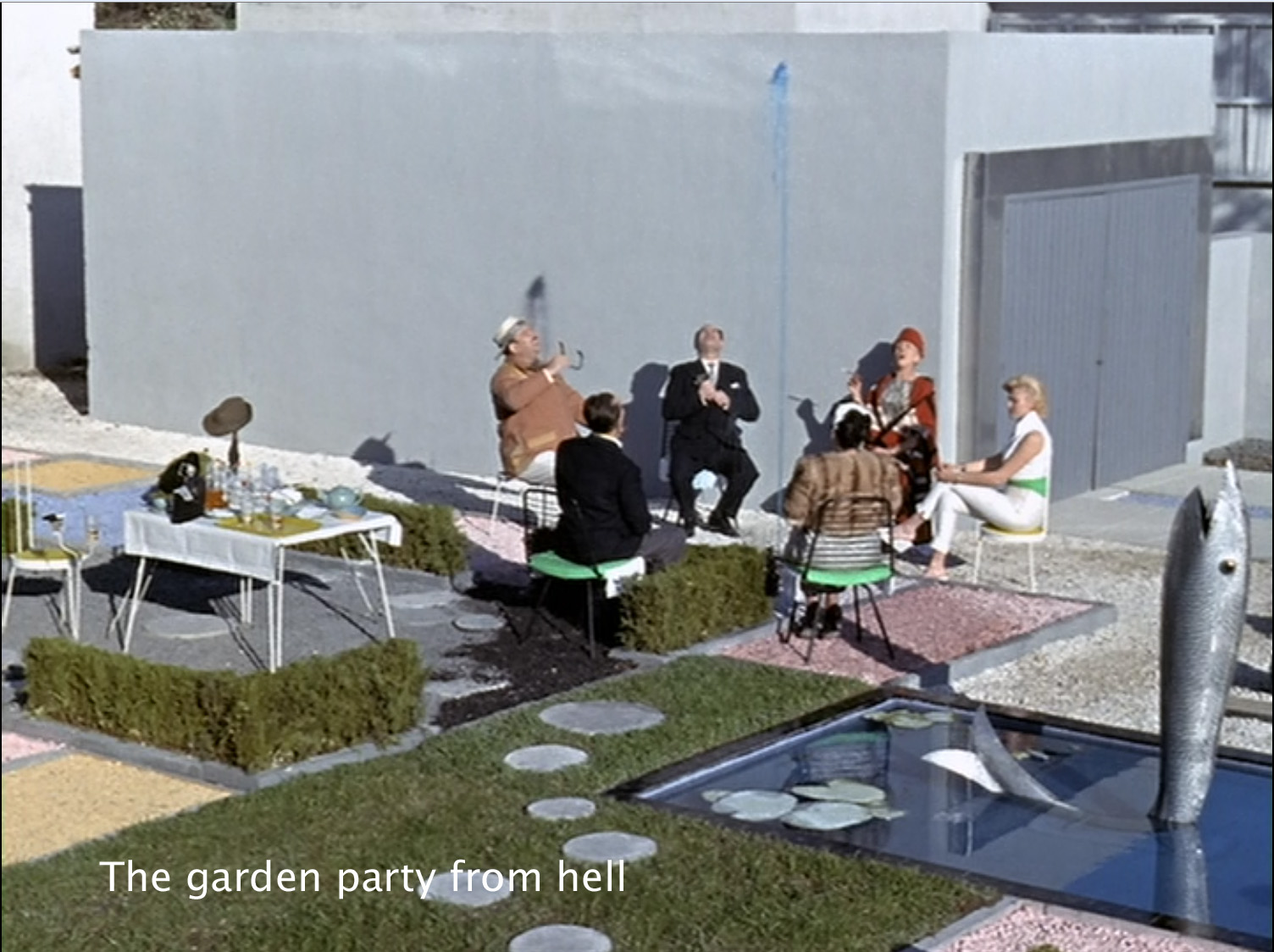 The garden party from hell