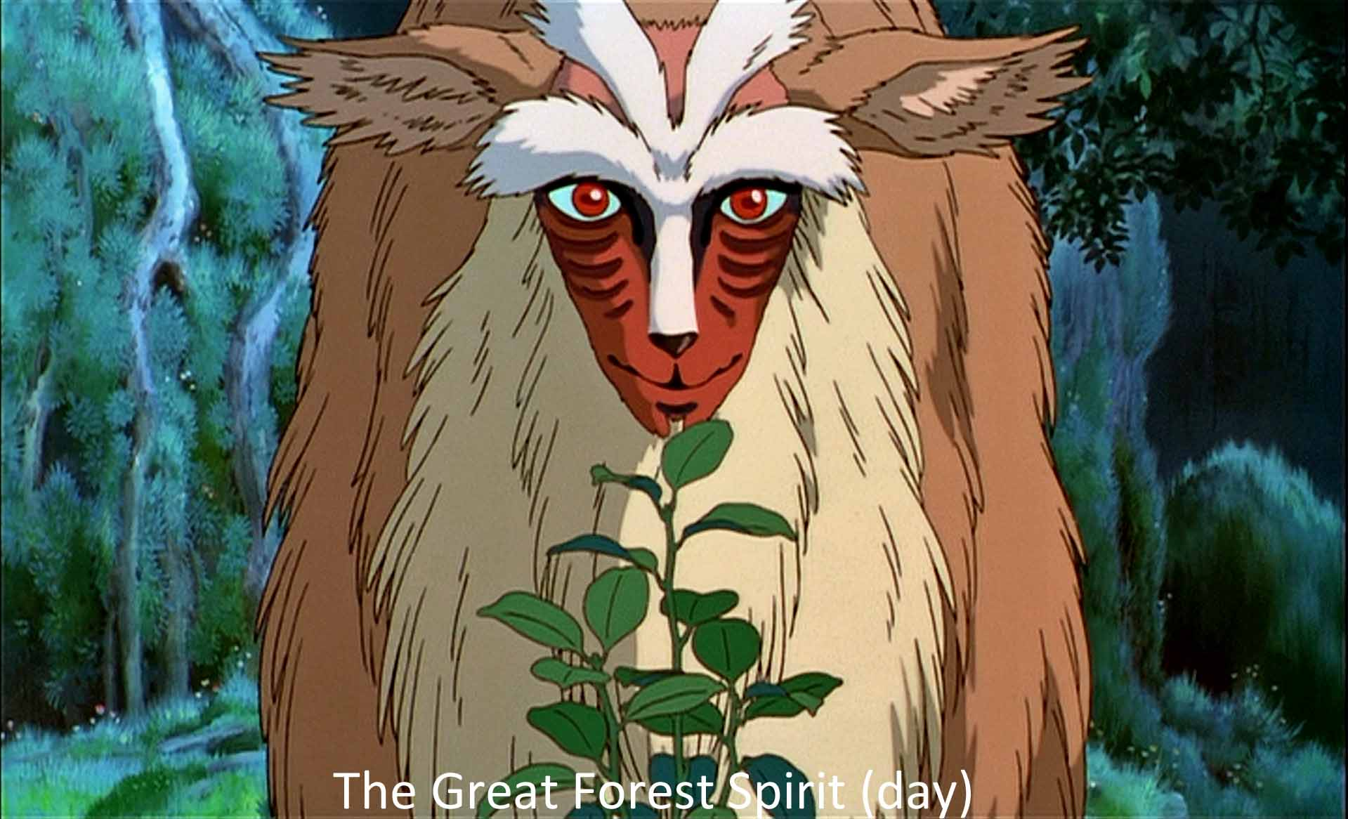 The Great Forest Spirit (day)