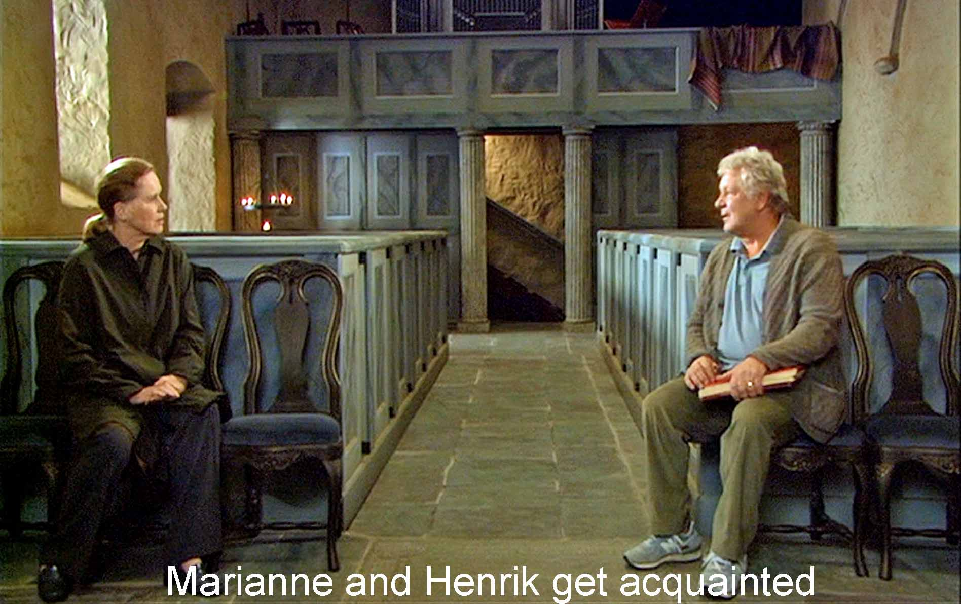 Marianne and Henrik get acquainted