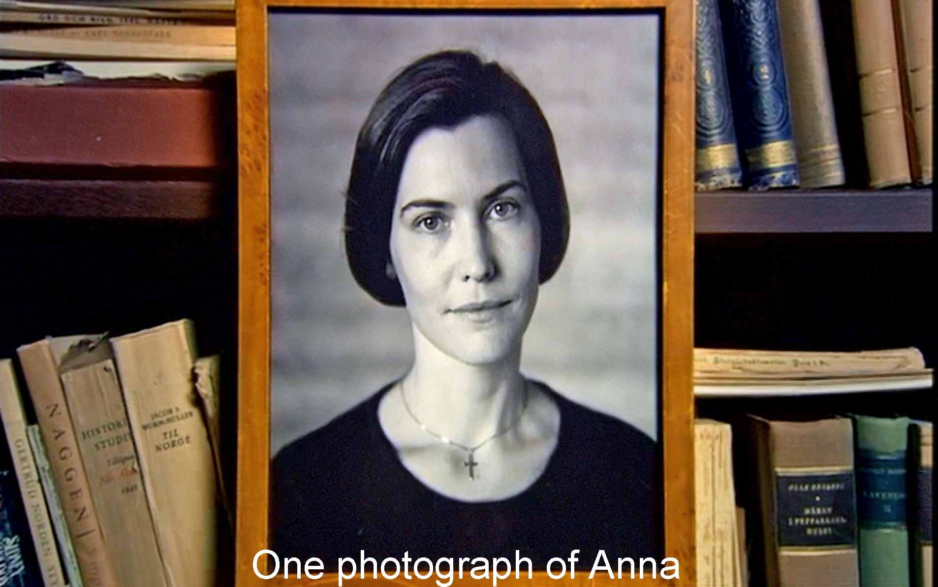 One photograph of Anna