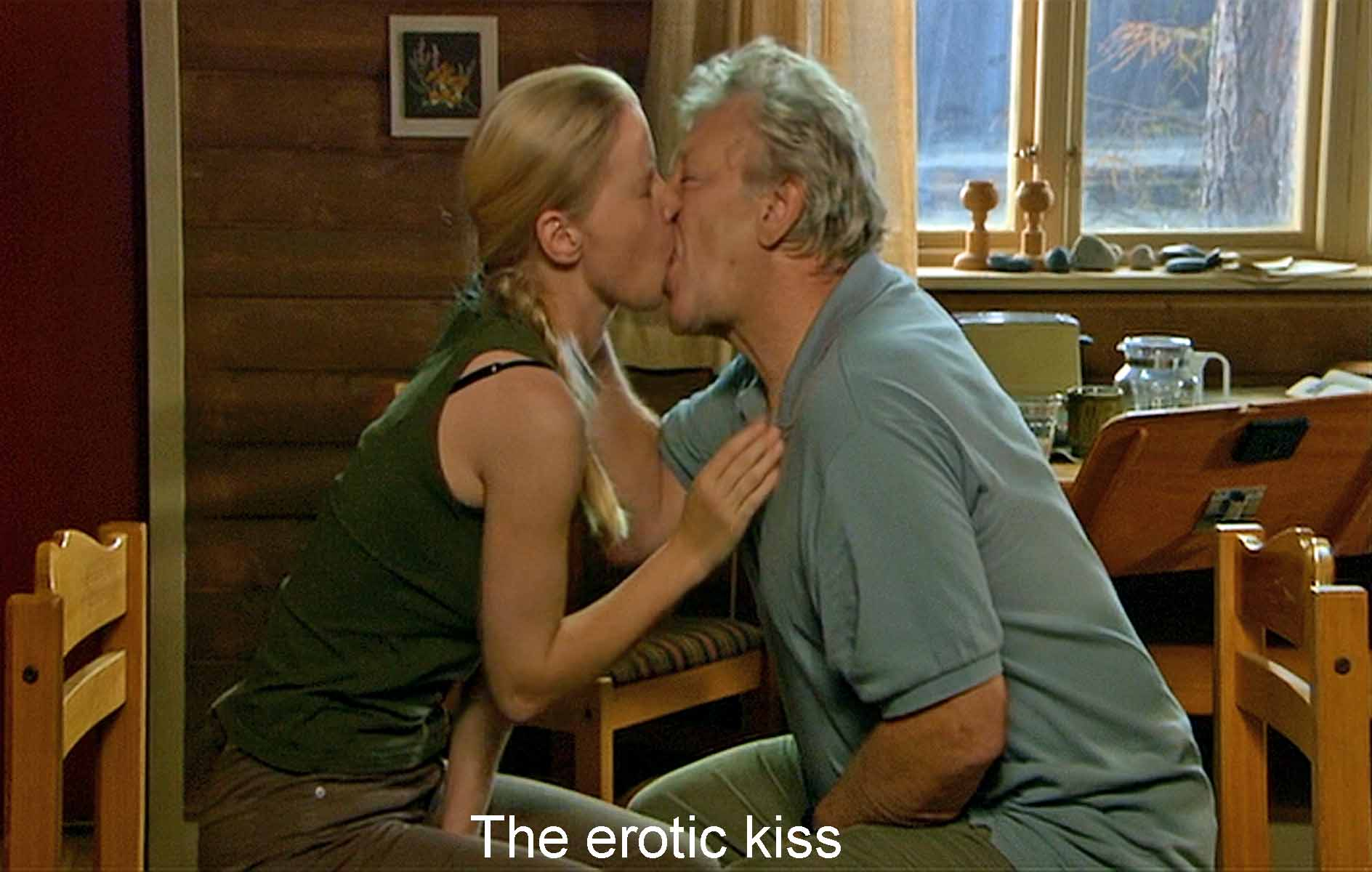 The erotic kiss