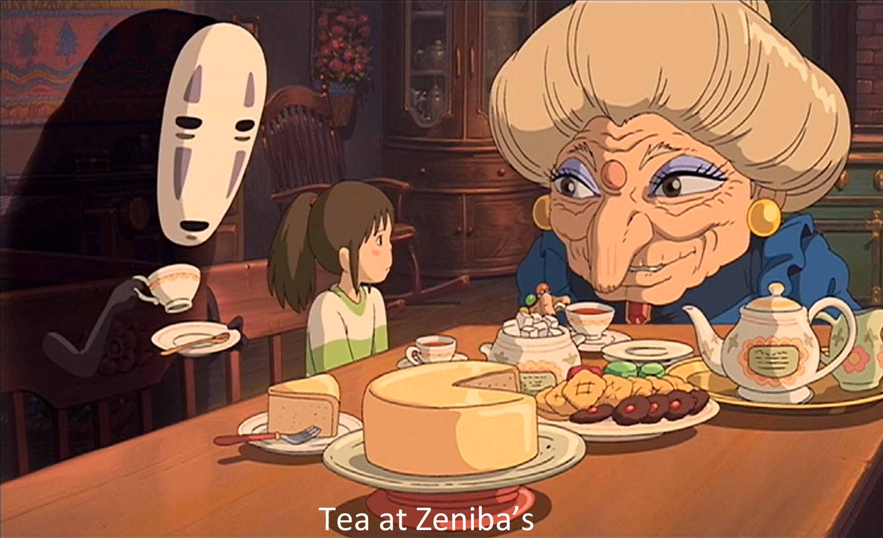 Norman Holland On Hayao Miyazaki Spirited Away Princess Hime