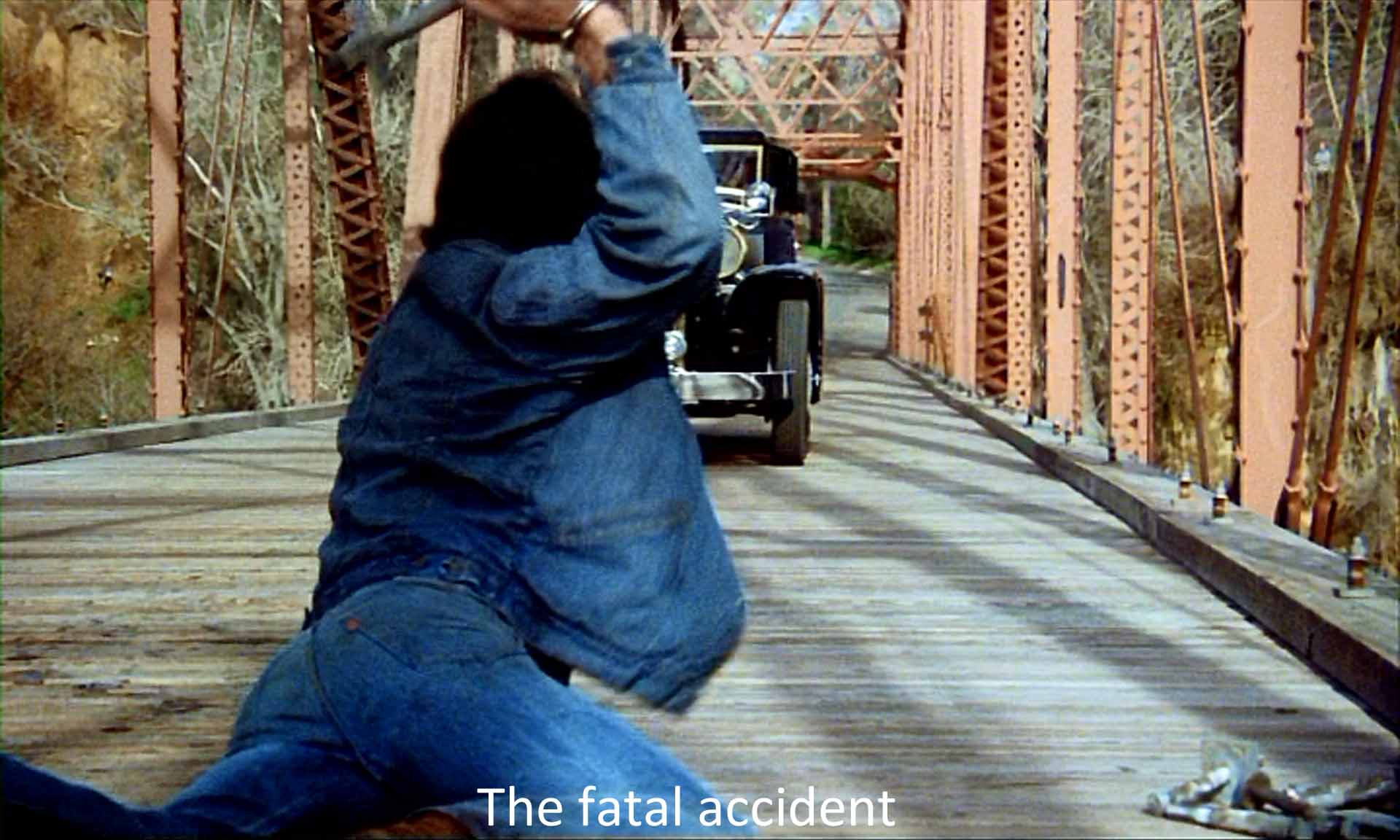 The fatal accident