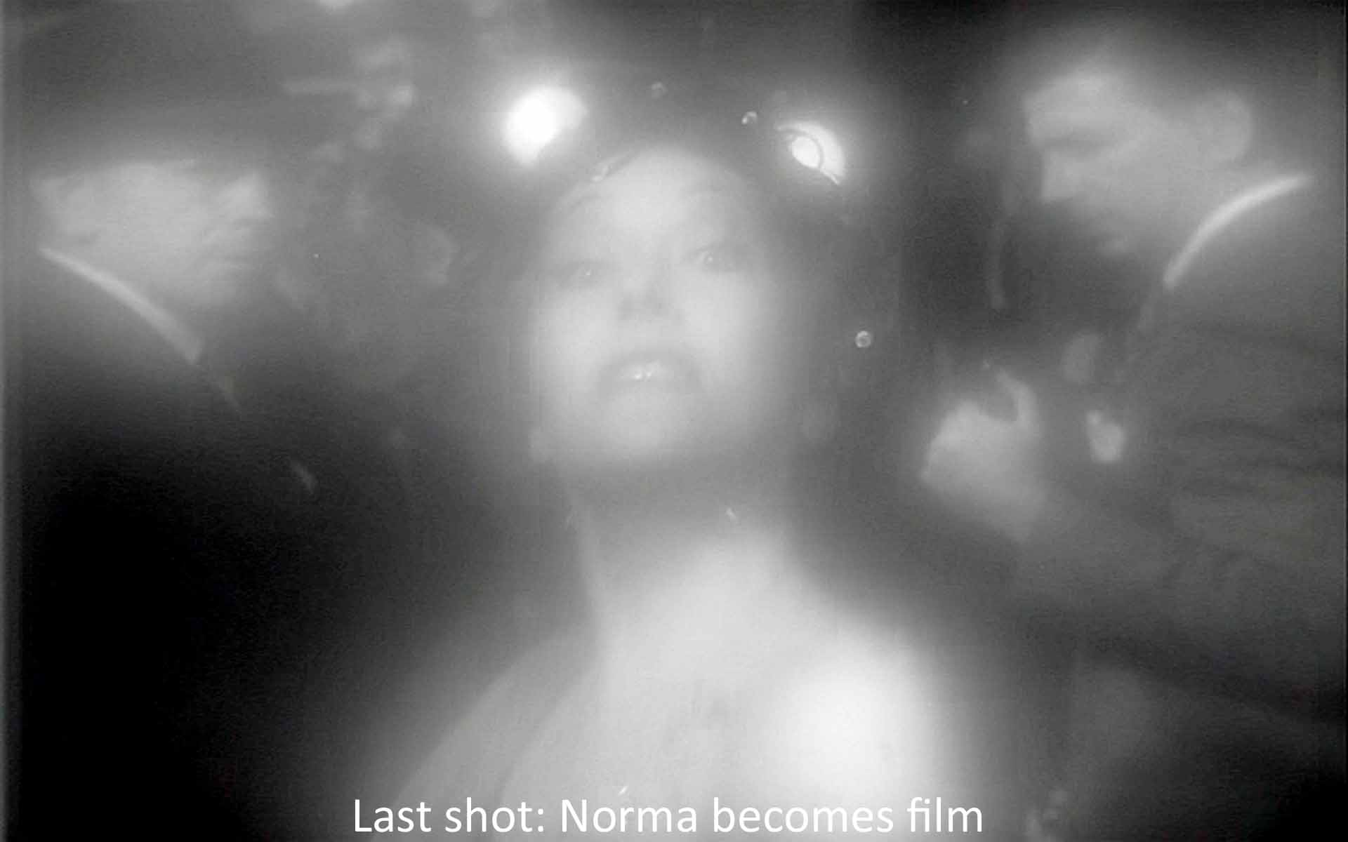 Last shot: Norma becomes film
