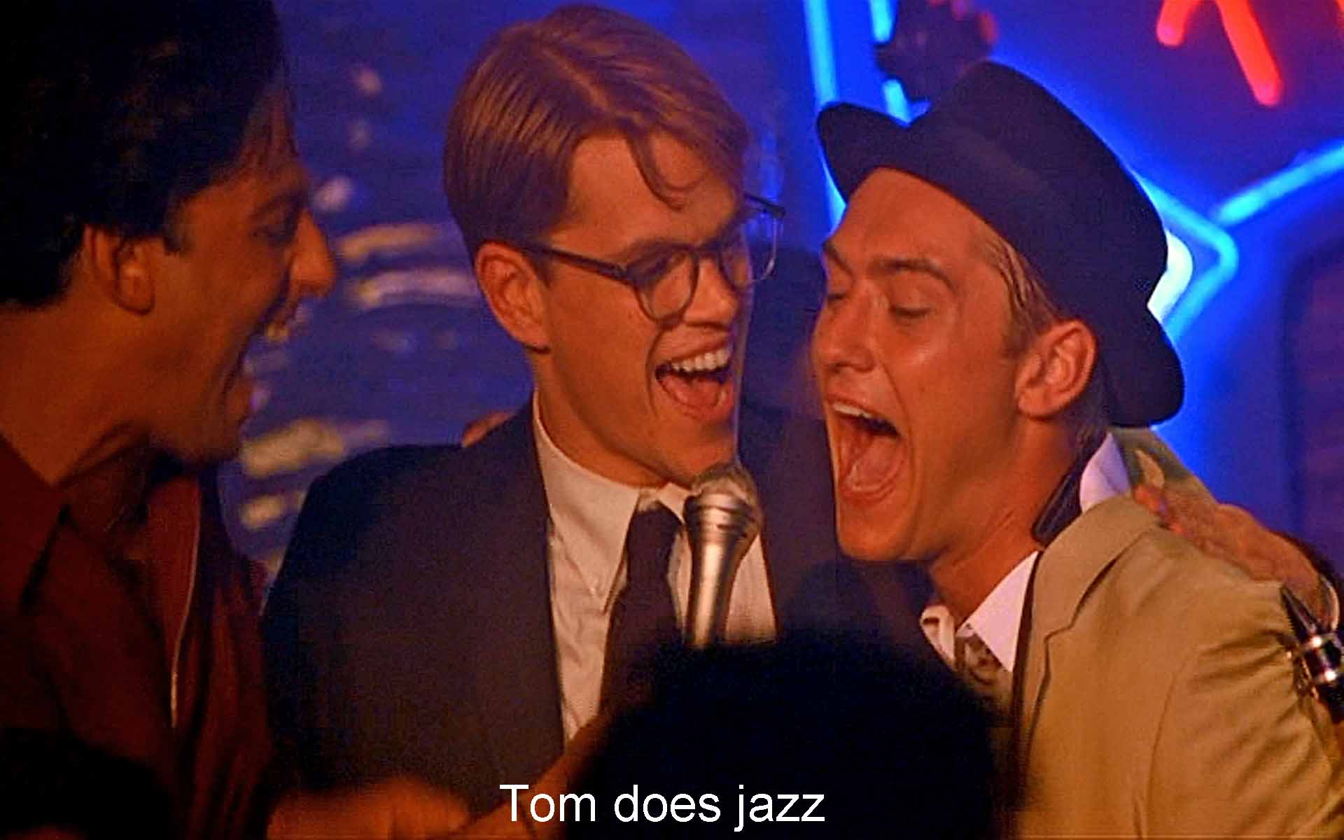 Tom does jazz