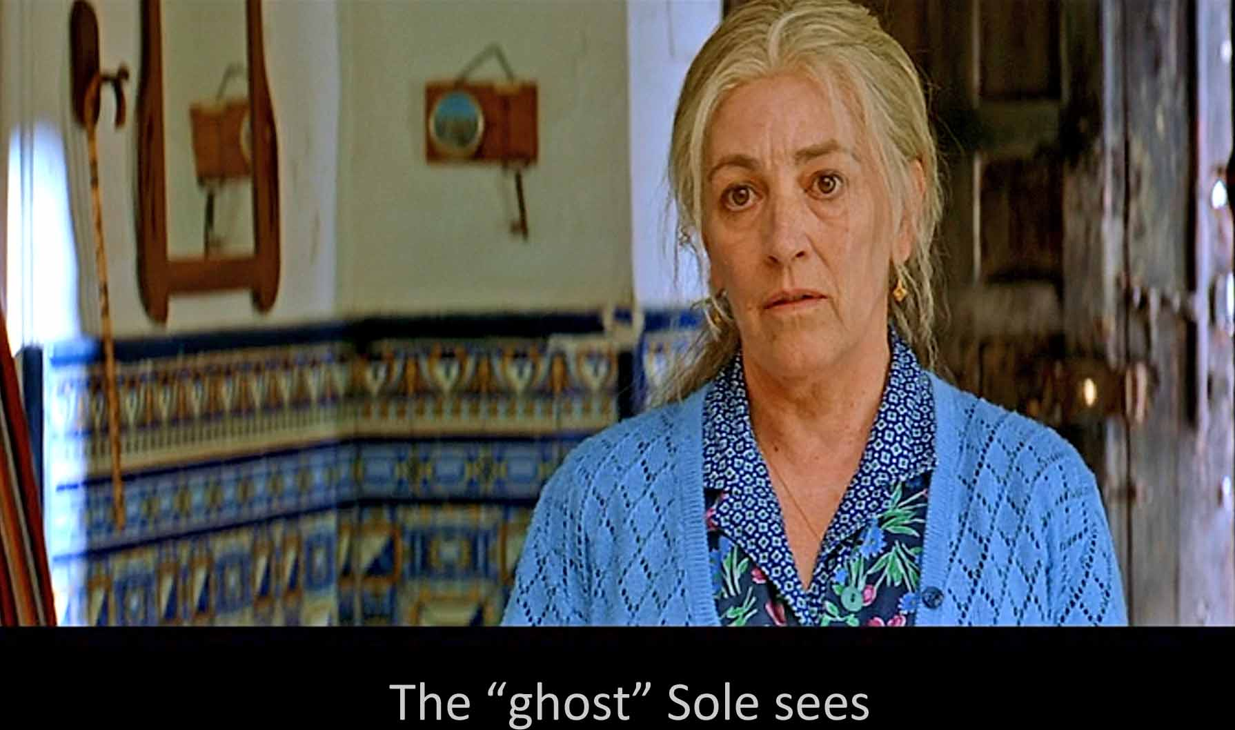 The ghost Sole sees