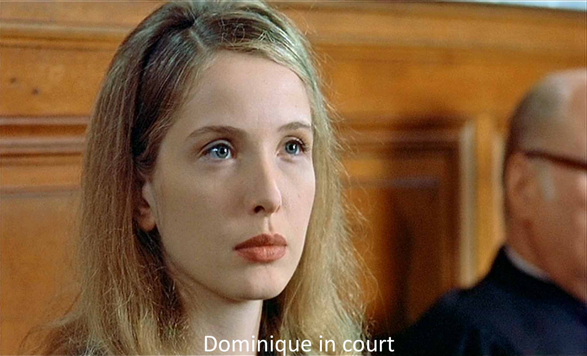 Dominique in court