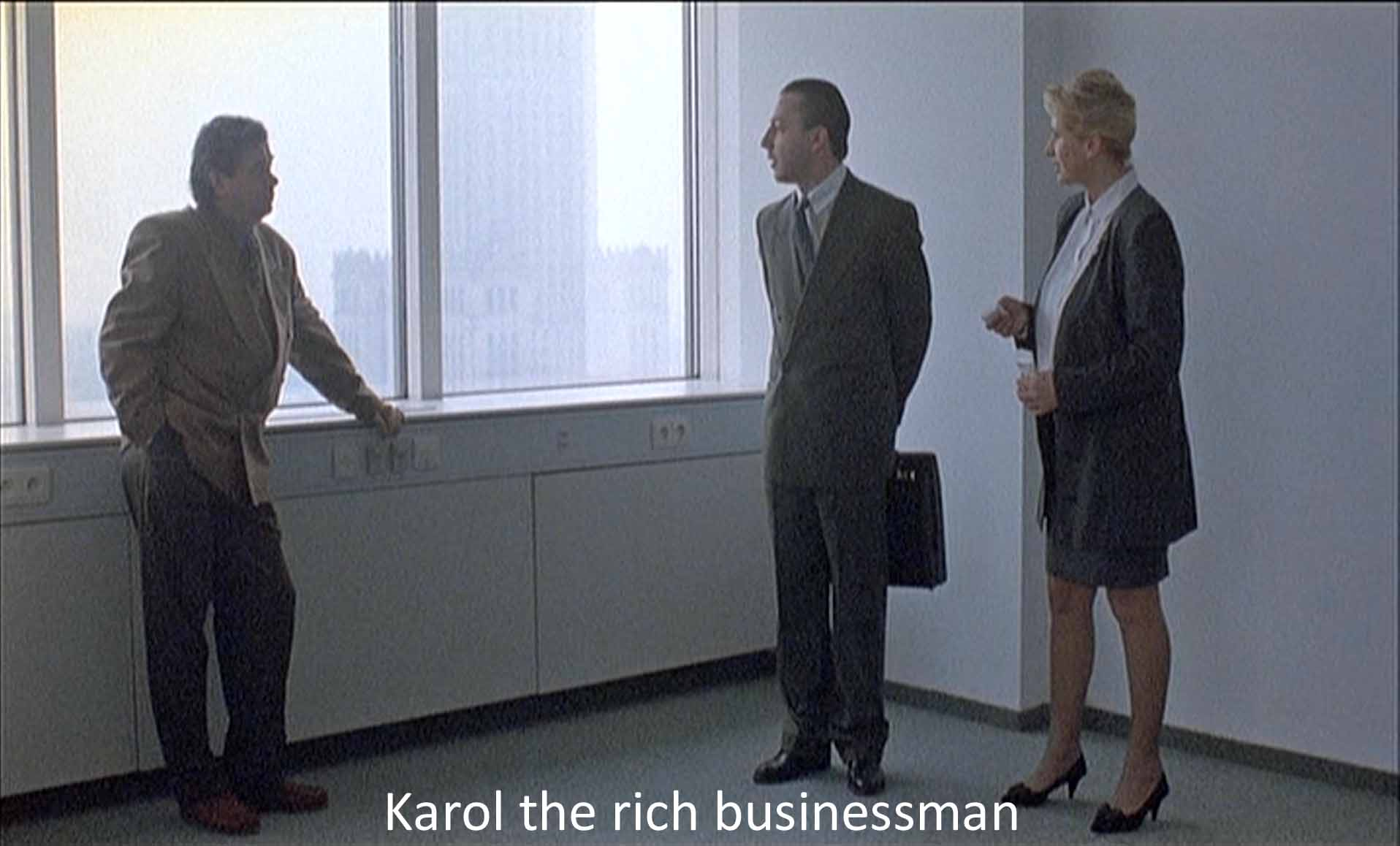 Karol the rich businessman