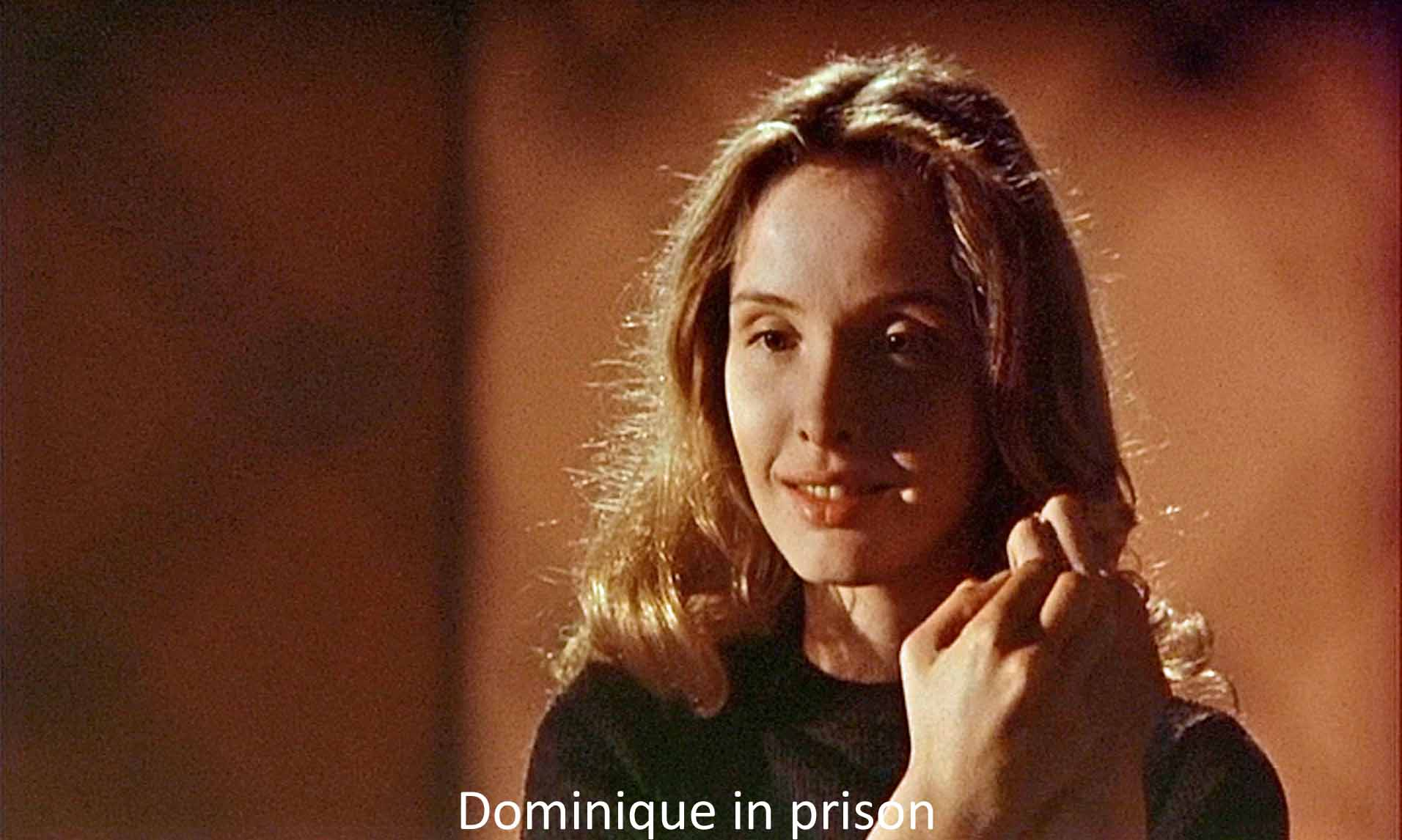 Dominique in prison