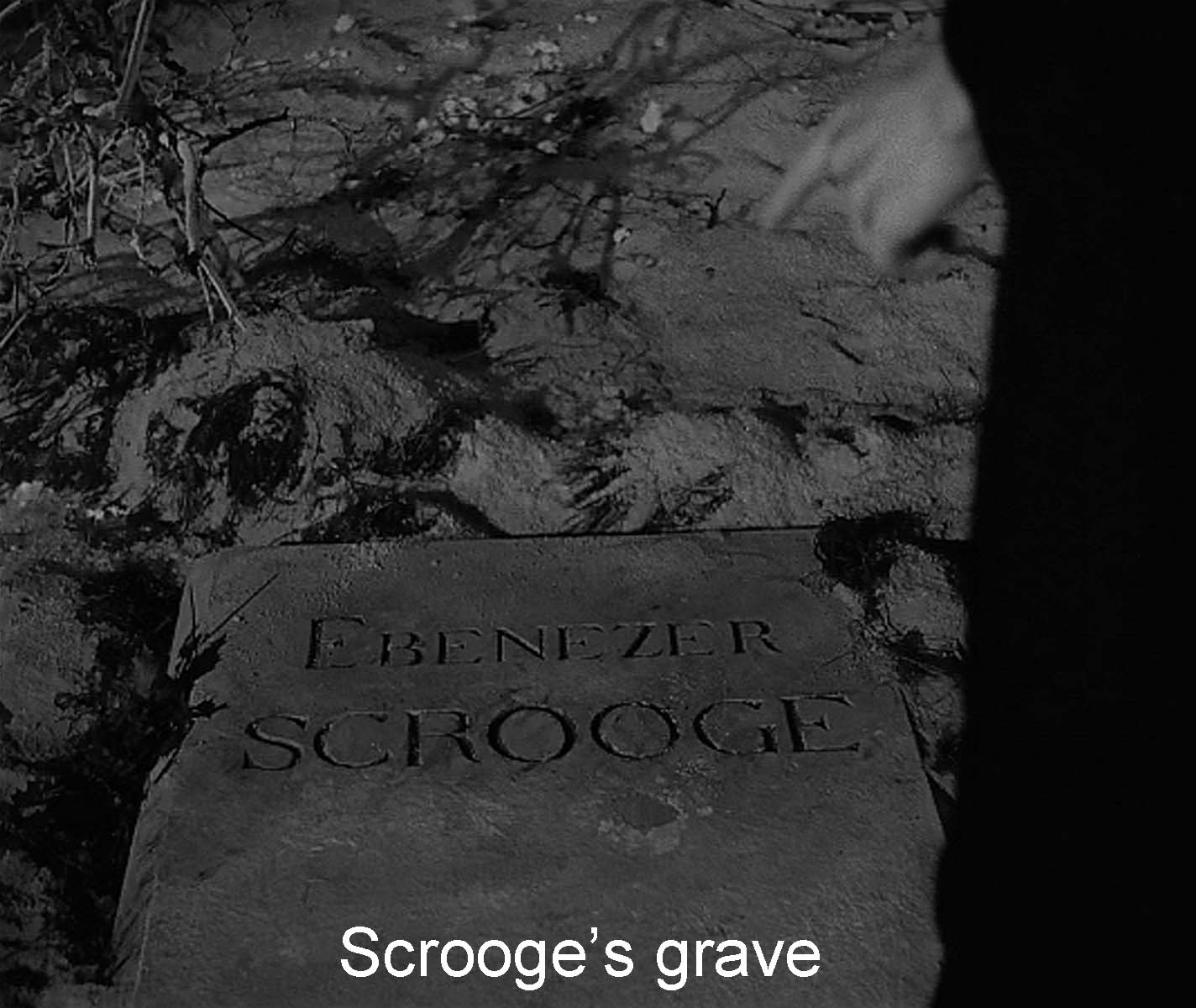 Scrooge's grave