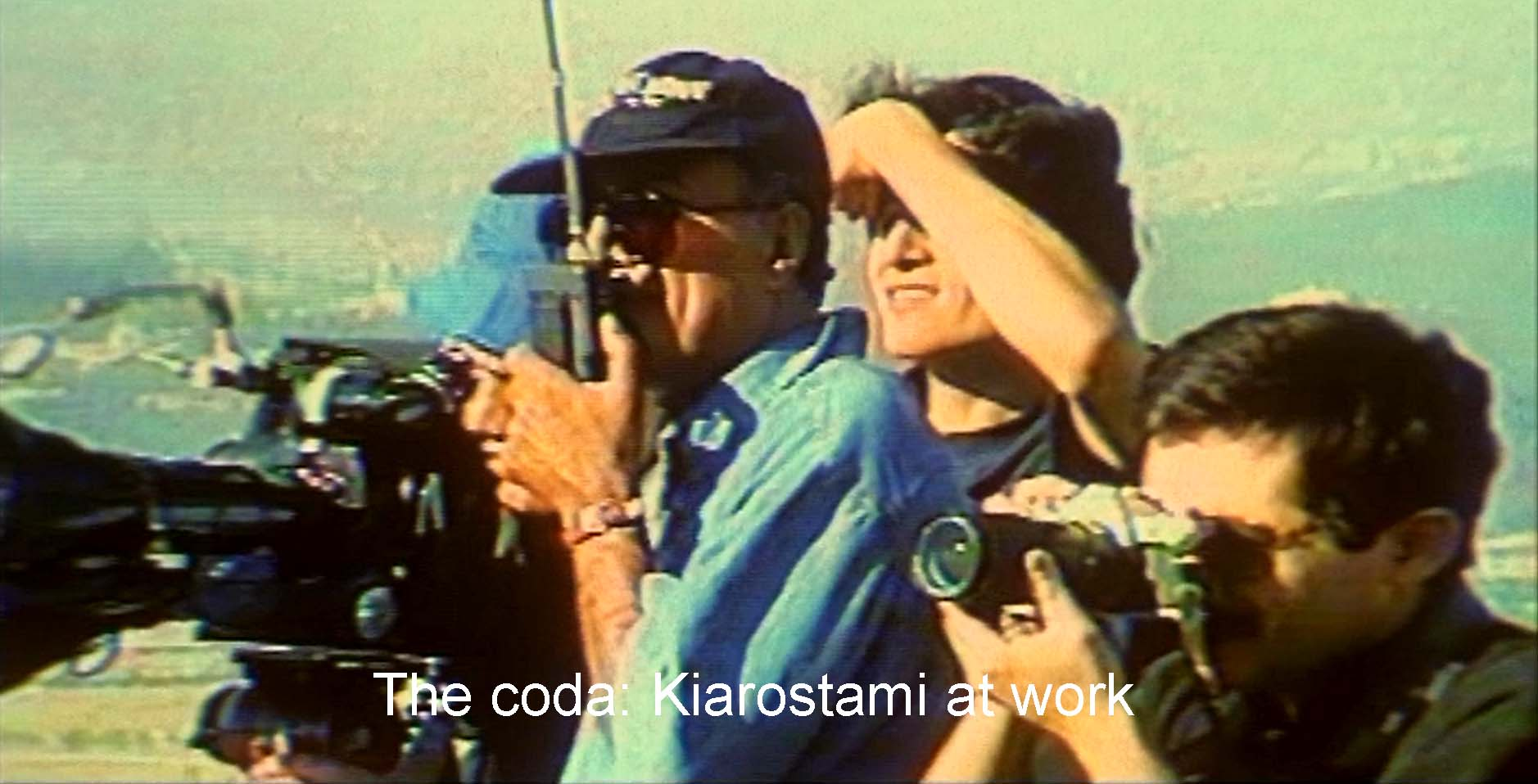The coda: Kiarostami at work